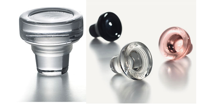 Rolha de vidro. Fonte:  http://vinolok.cz/