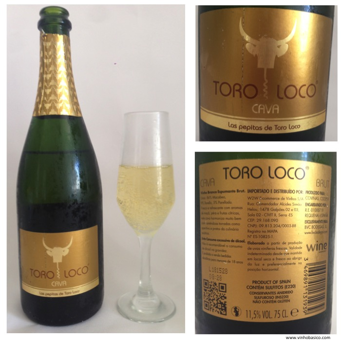 Fotos Cava Toro Loco Brut vinhobasico