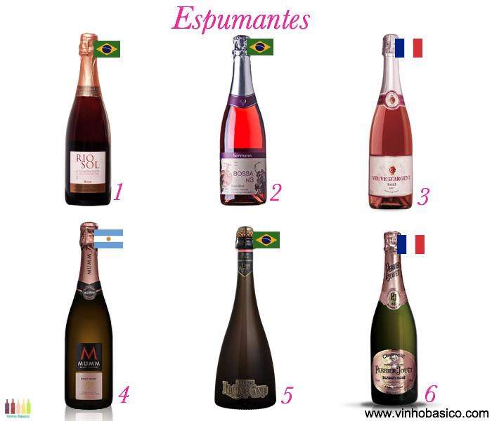 Outubro Rosa Espumantes vinhobasico
