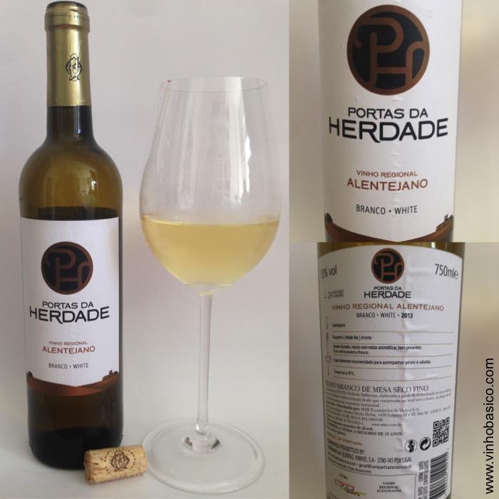 Portas da Herdade Branco vinhobasico