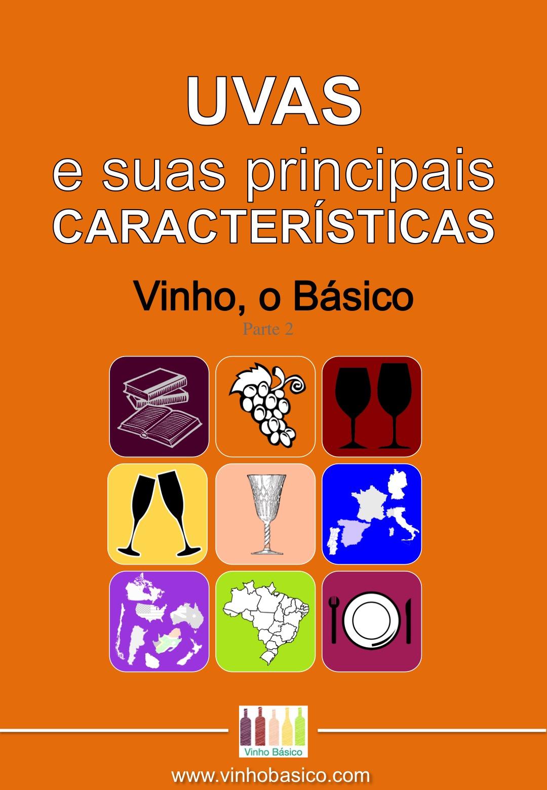 Capa Ebook Vinho o Basico 2 UVAS