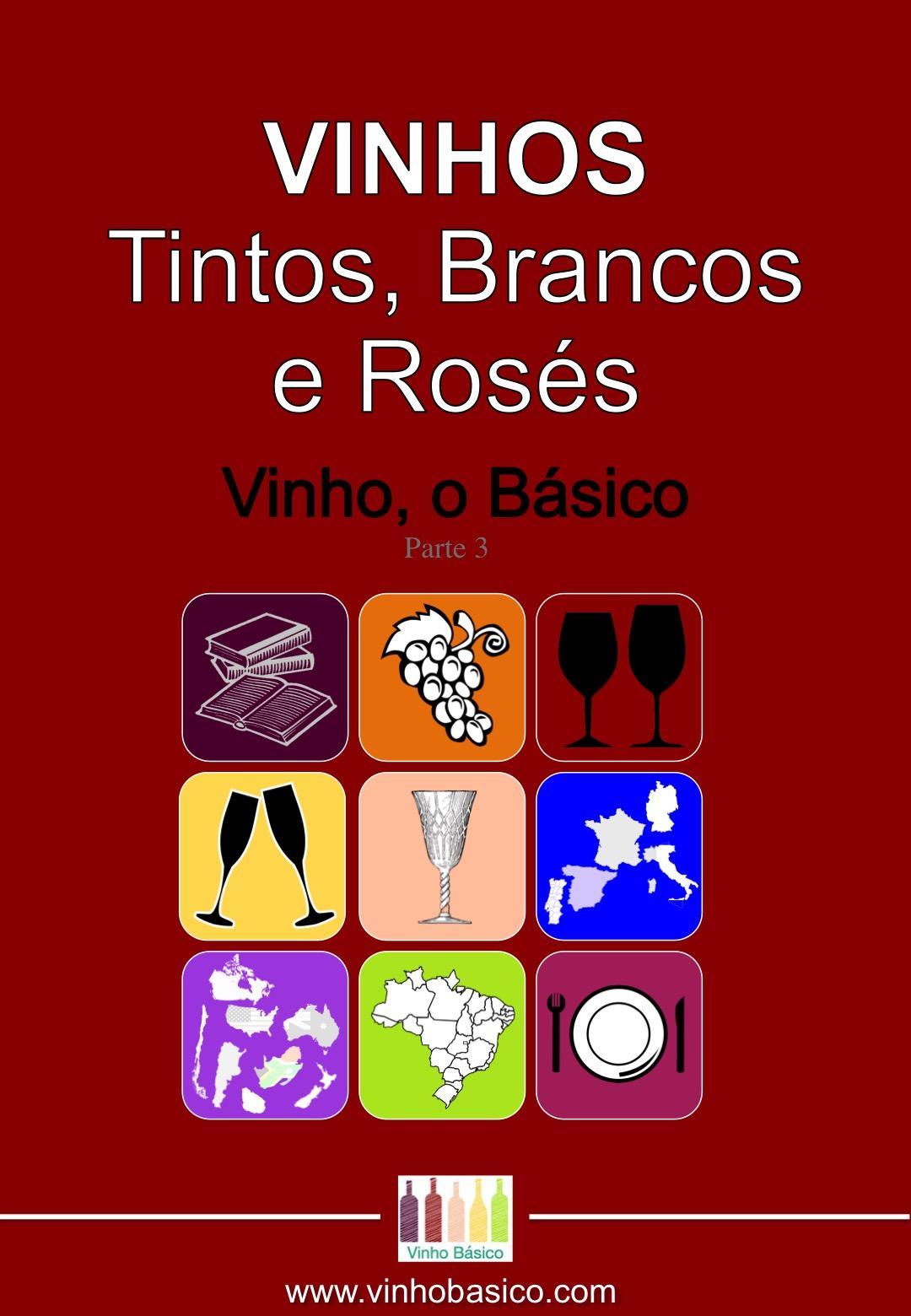 Capa Ebook Vinho o Basico 3 VINHOS