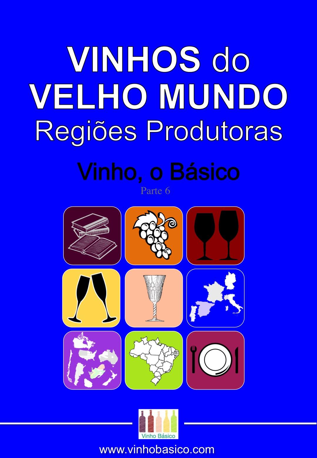 Capa Ebook Vinho o Basico 6 VELHO MUNDO