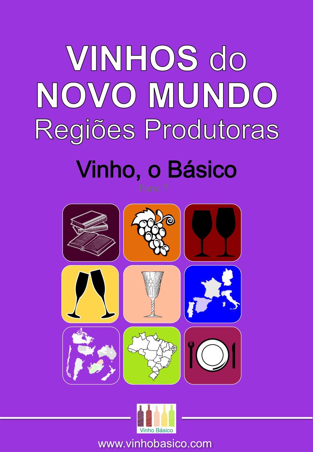 Capa Ebook Vinho o Basico 7 NOVO MUNDO