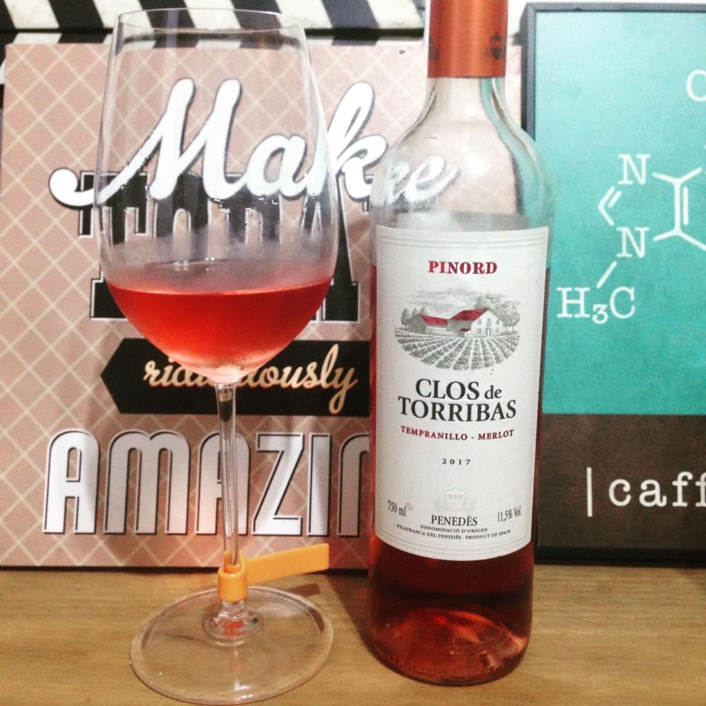Clos de Torribas Rosé 2017 vinhobasico