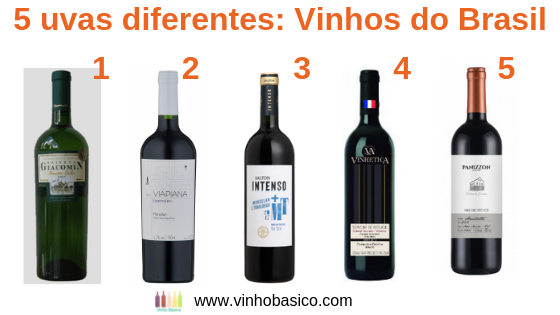 5 uvas diferentes_Vinhos do Brasil