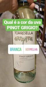 vinhos brancos de uvas tintas pinot grigio vinhobasico